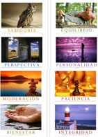 Mind, Body & Spirit (Spanish) Set - 8 Posters
