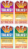 P.E.P. Talks - Set of 4 PEP Talks Card Decks