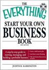 Everything Start Your Own Business Book, with CD