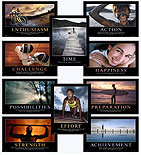 Making the Most of Life - 10 Laminated Poster Set