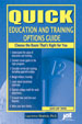Quick Education and Training Options Guide