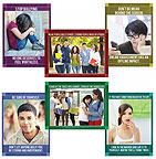Bullying Hurts: Anti-Bullying Guidance Series - 6 Poster Set