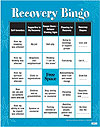 Recovery Bingo (Adult Version)