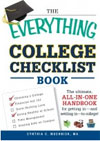 Everything College Checklist Book