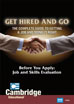Get Hired and Go: Before You Apply: Job and Skills Evaluation - DVD (CC)