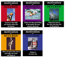 Motivation For Success - Set of 5 Posters