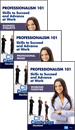 Professionalism 101: Skills to Succeed and Advance at Work Series - 3 DVDs (CC)