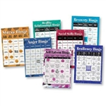 BINGO GAMES FOR ADULTS -SET OF 7