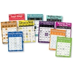 BINGO GAMES FOR TEENS – SET OF 10